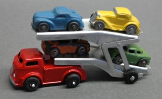 Barclay Car Hauler- Double decker