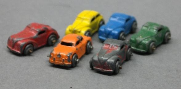Lot of 6 Various Barclay Cars