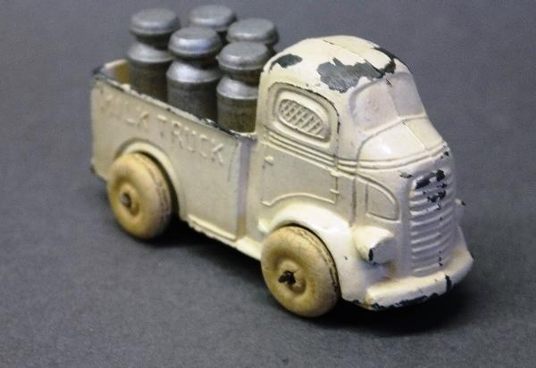 Barclay Milk Truck with Milk Cans- All Original