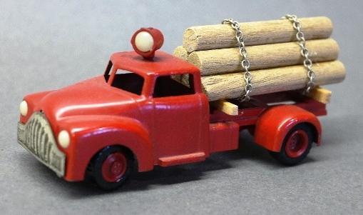 Tekno Denmark Log Truck with Logs
