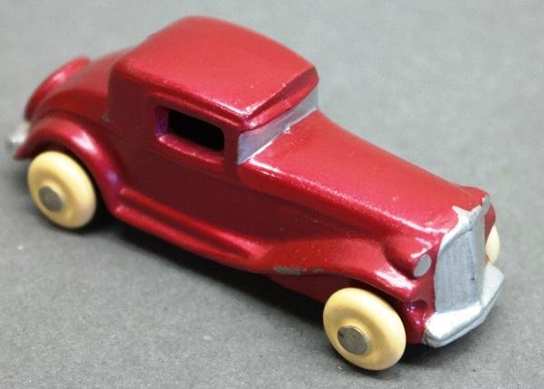 Early Slush Toy 1920s-30s Coupe-Restored