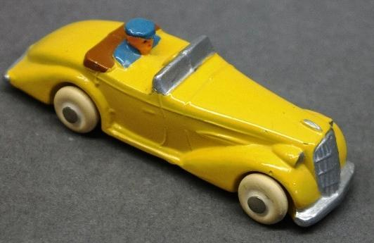 Early Slush Toy Convertible w/Driver-Restored
