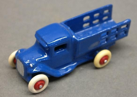 Early Slush Toy Stake Side Truck-Restored