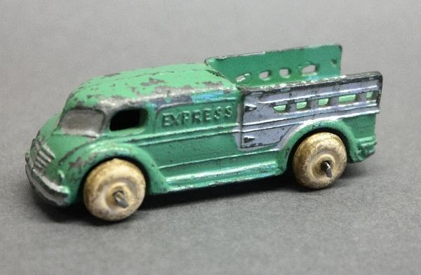 Early Slush Toy Future Delivery Express Truck