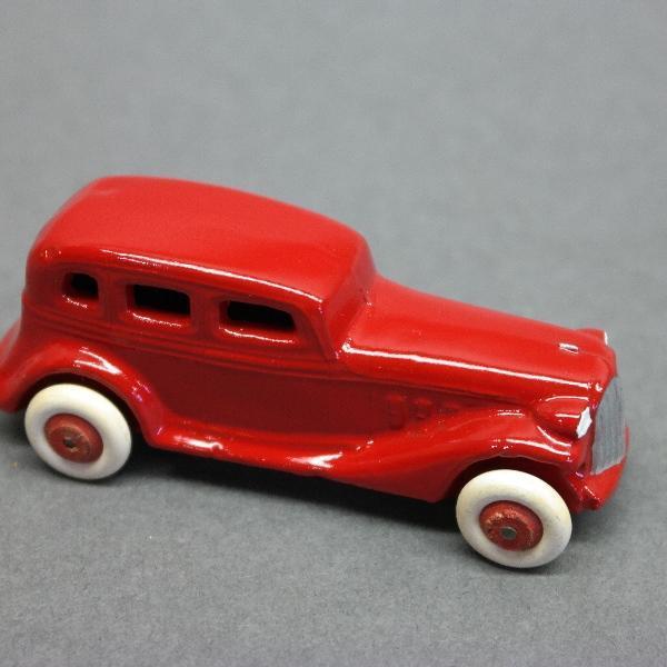 Red Slush Toy Sedan-Restored