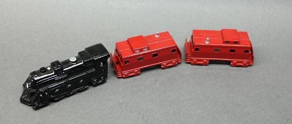 3 Piece Midge Toy Train Set-Restored