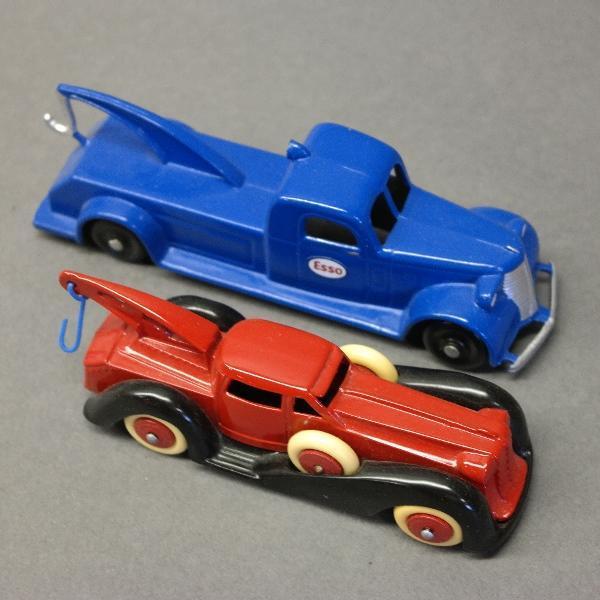 Lot of 2 Wrecker Trucks-Manoil & Tootsie
