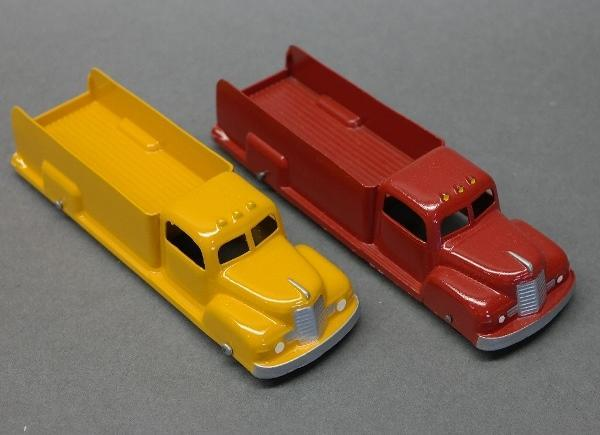 Lot of 2 Tootsie Toy Restored Pick Up Trucks-6