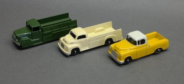 Lot of 2 Tootsie and Midgetoy Trucks