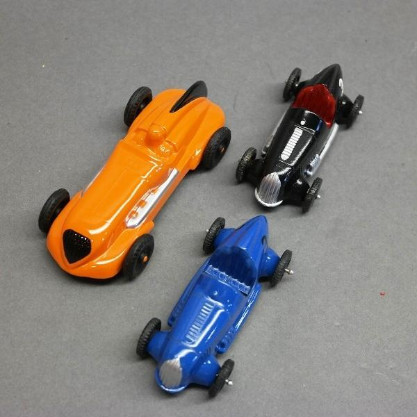 Lot of 3 Open Wheel Racers-HARCO & Tootsie Toys