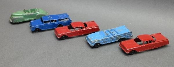 Lot of 5 Tootsie Toy Vehicles- Original