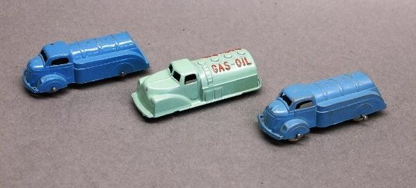 Lot of Tootsie Toy and Renwal Oil Tankers