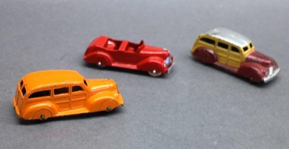 Lot of 3 Tootsie Toy Vehicles- 1 restored