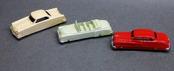 Lot of 3 Restored Cars- Tootsie toy and Midge toy