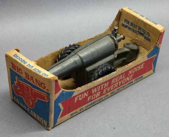 Conestoga Toy Cannon in Original Package
