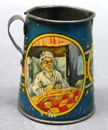 Very Rare Little Red Riding Hood Creamer Pitcher by Ohio Art