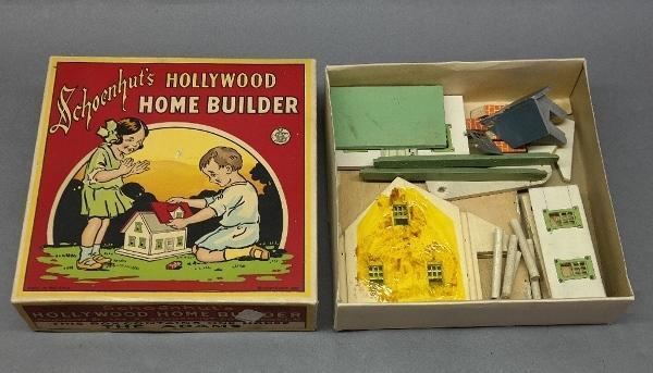 1928 Schoenhut's Hollywood Home Builder Kit