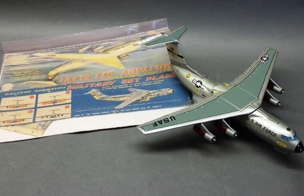 Battery Operated MARX USAF Mats Transport Plane-Parts unit w/Box