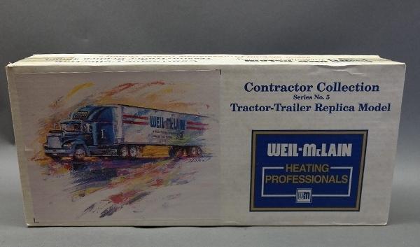 WEIL-McLAIN Freightliner 1/25 Scale Truck-SEALED-Ertl