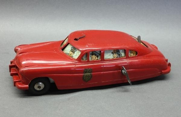 Marx Fire Chief Battery Operated Wind Up Car
