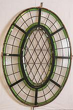 Argentine Oval Window With Swivel Opening