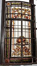 Argentine Window With Double Opening Door