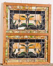 American Tulip Design Window