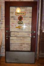 American Oak Door from Hardware Store