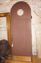 American Oak Arch Top Door