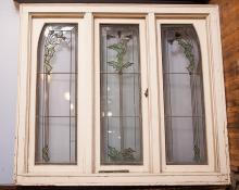 Archicect George Maher Three Panel Window