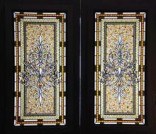 Bogenrief Stained Glass Nugget Doors
