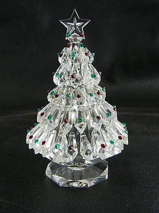 Crystal World Christmas Tree