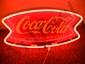 Reproduction Coca-Cola Bow Tie Neon Sign