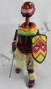 TPS Pango Pango African Dancer Wind-Up Tin Toy