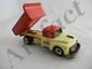 Vintage Tin Japanese Friction Dump Truck