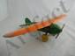 Wyandotte Lockheed Vega Plane (Orange and Green)