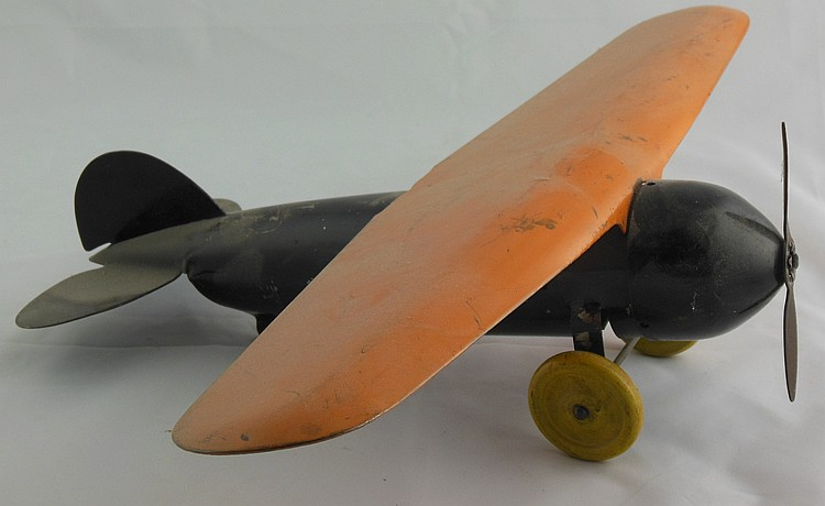 Wyandotte Pressed Steel Airplane