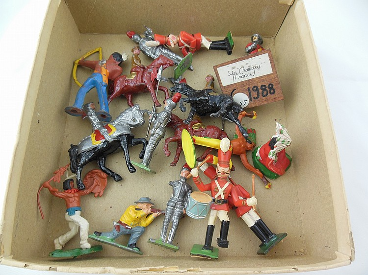 Assorted Lead Figurines (Sir Chambly)
