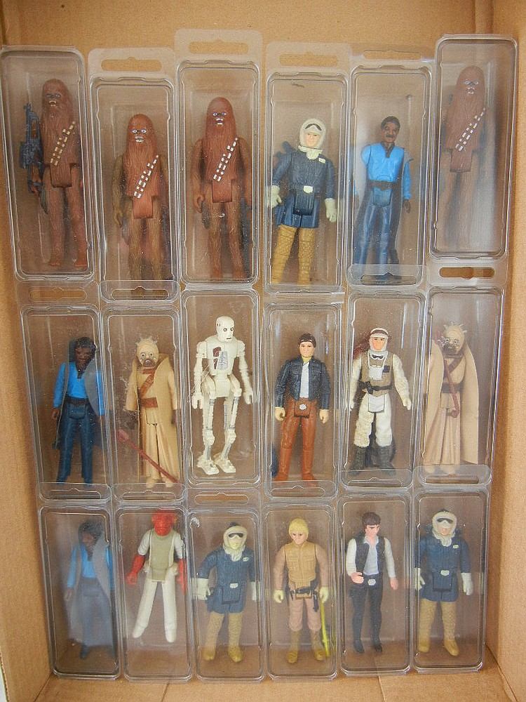 Lot of 18 Star Wars Vintage Action Figures