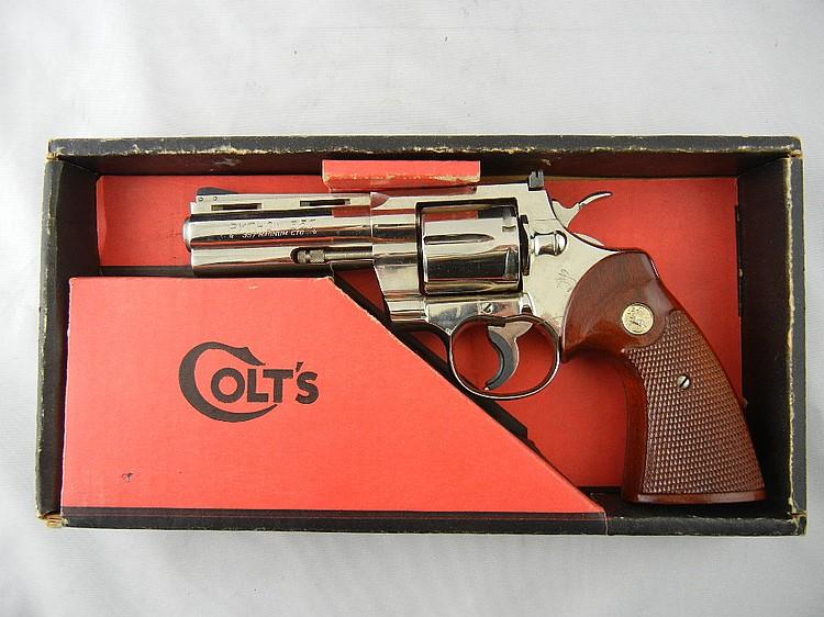 Colt Python .357 Magnum Pistol in Box