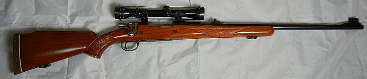 Belgium Browning .300 Cal Rifle w/ Redfeld Scope, Mint