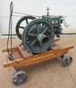 1 1/2 HP McCormick-Deering Hit-n-Miss Engine, Fully Restored, w/ Cart