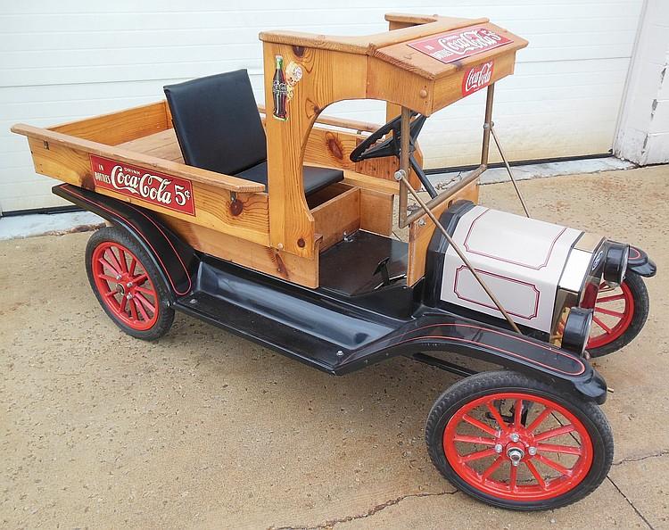 Coca Cola Model T Gas Powered Parade Truck, Restored, Runs!