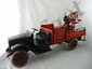 Buddy L Pressed Steel Red Wrecking Truck, 1920's