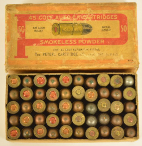 Peters cartridge .45 dating