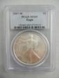 2007-W Silver Eagle, PCGS MS 69