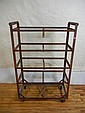 American Industrial Shelf on Wheels, 5 Shelves