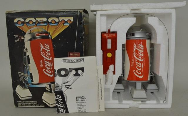 1979 Radio Controlled Coca Cola Cobot