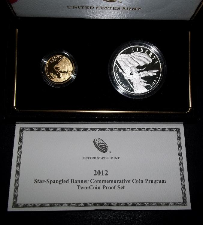 2012 STAR-SPANGLED COINS