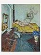 ALBERT LEMAITRE, (Belgium, 1886-1975), Reclining Nude, Circa 1915, Oil on canvas, Albert Lemaître, Click for value